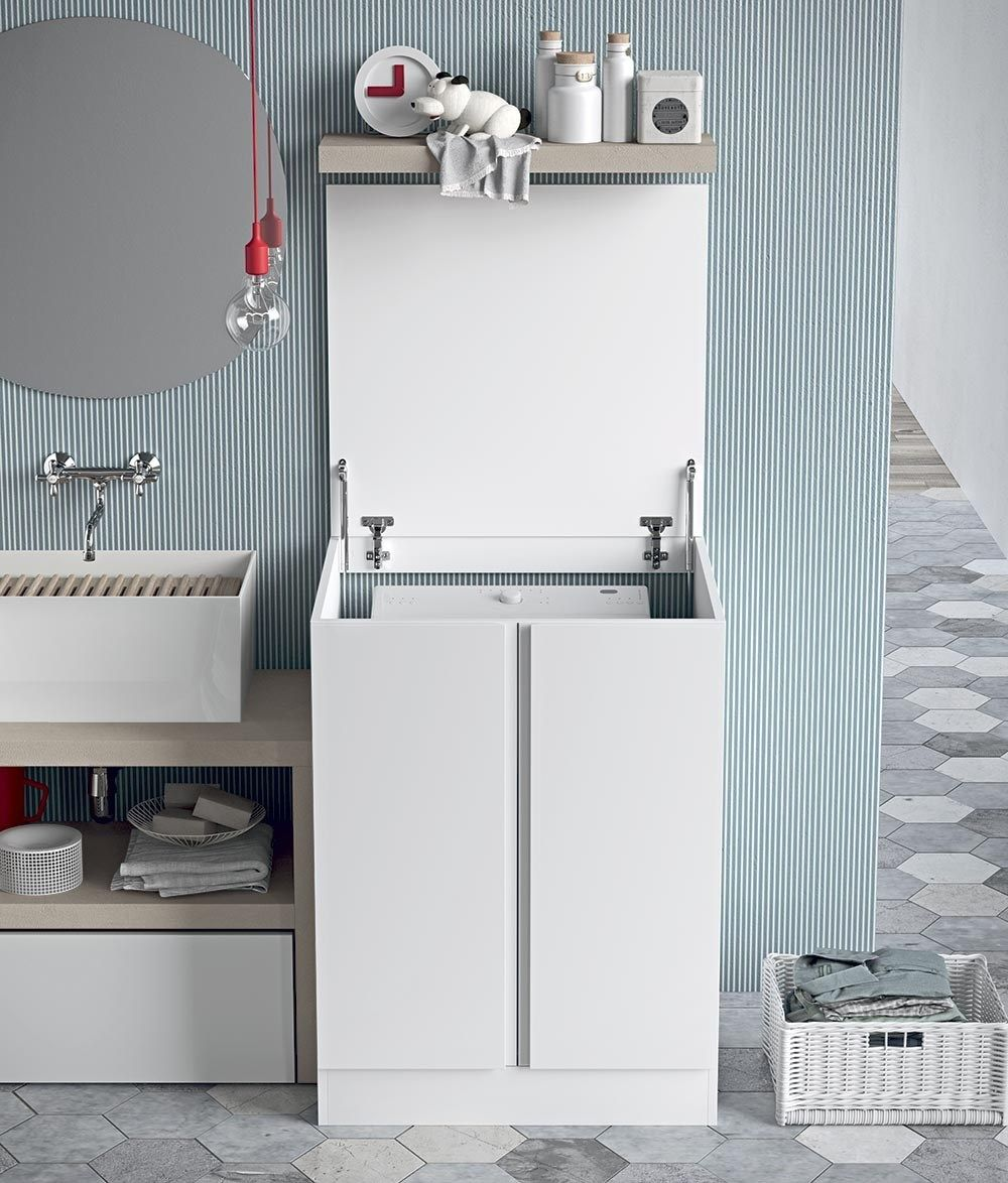 Mobile Da Esterno Per Lavatrice mobile x lavatrice carica dall'alto