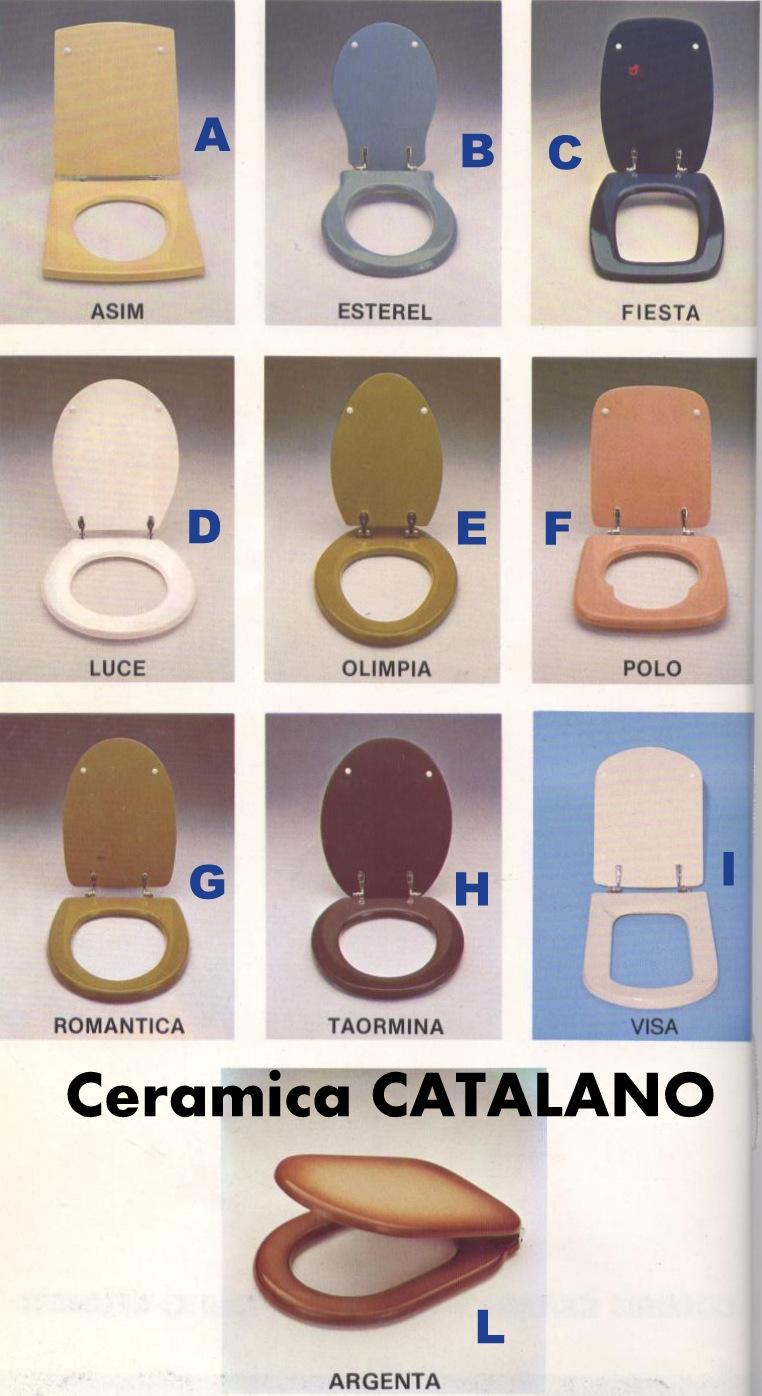 Ceramica Catalano Serie Luce.Copriwater Dedicati Ai Modelli Di Ceramica Catalano