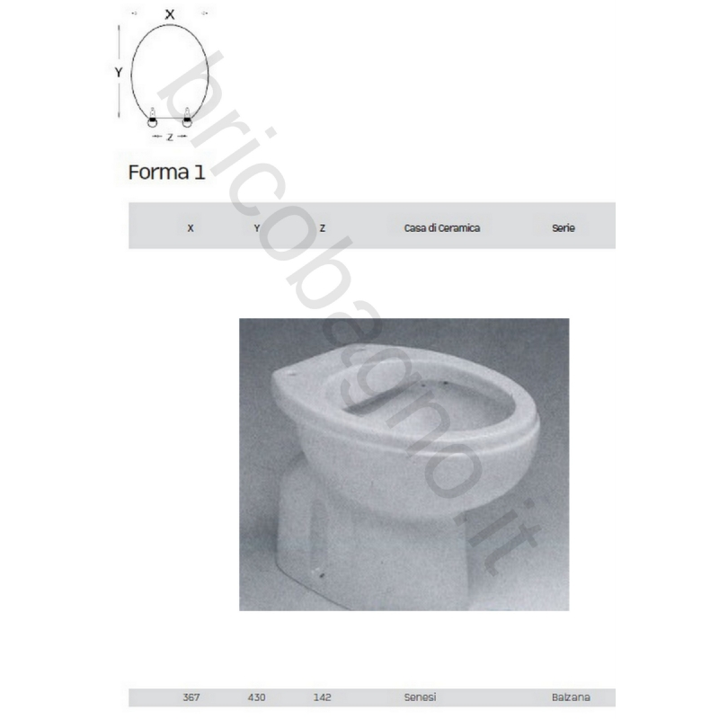 Ceramiche Senesi Donatello.Sedile Wc Ceramica Senesi